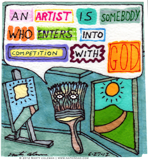 Competing with God