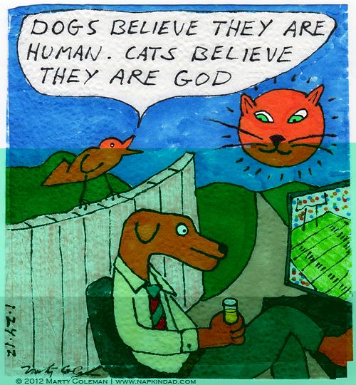 Tι πιστεύουν οι σκύλοι