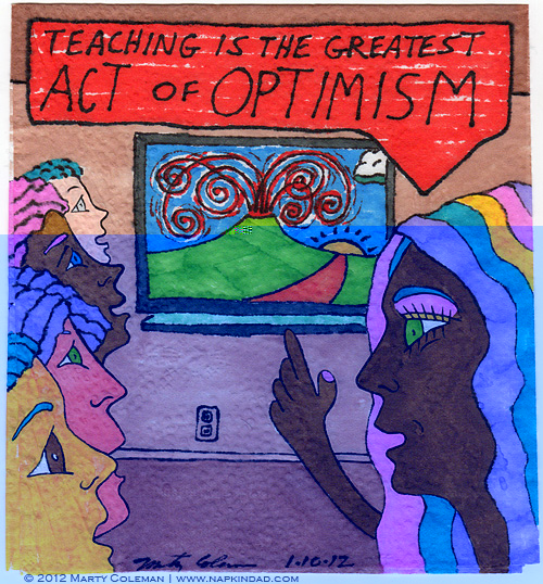 teaching and optimism