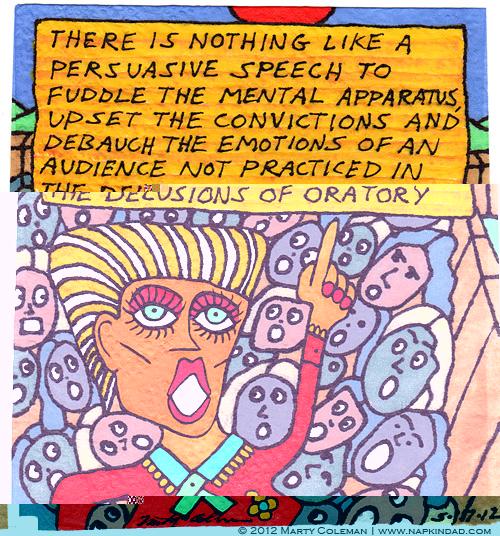 Persuasion and Oratory - Persuasion series #4