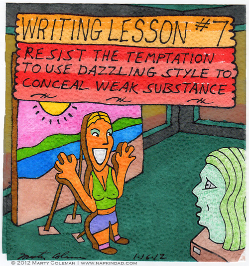 Writing Lesson #7 - Substance