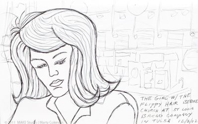 Sketchbook History Tour, 2002 – Flippy Haired Girl