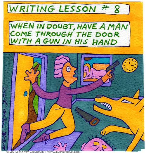 Writing Lesson #8