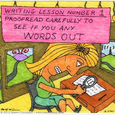 Writing Lesson #1