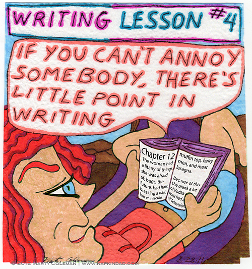 Writing Lesson #4
