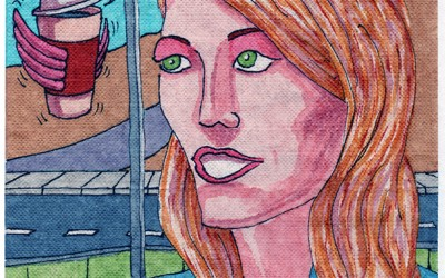 The Flying Coffee Cup – An Illustrated Short Story