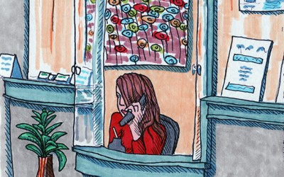 The Receptionist – A Short Short Story
