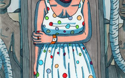 Ella's Table of Contents – An Illustrated Short Story