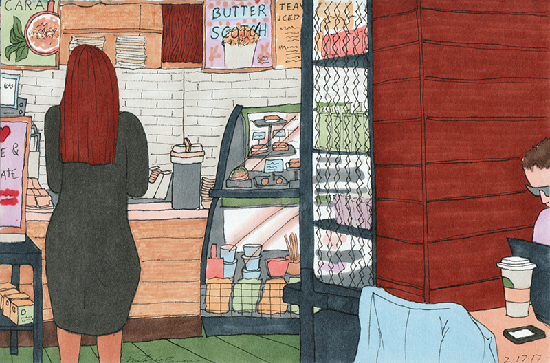 Numbers at Starbucks – An Illustrated Short Story