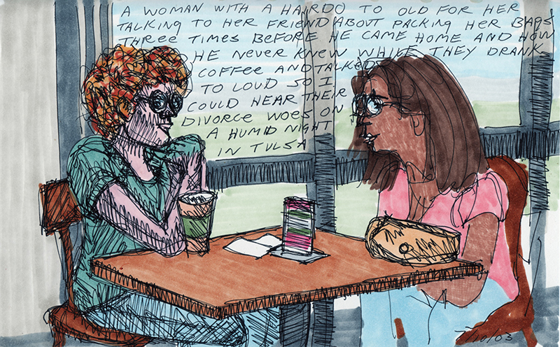 Divorce Woes – A Sketchbook Drawing