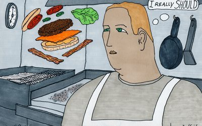 The Short Order Cook – An Illustrated Short Story